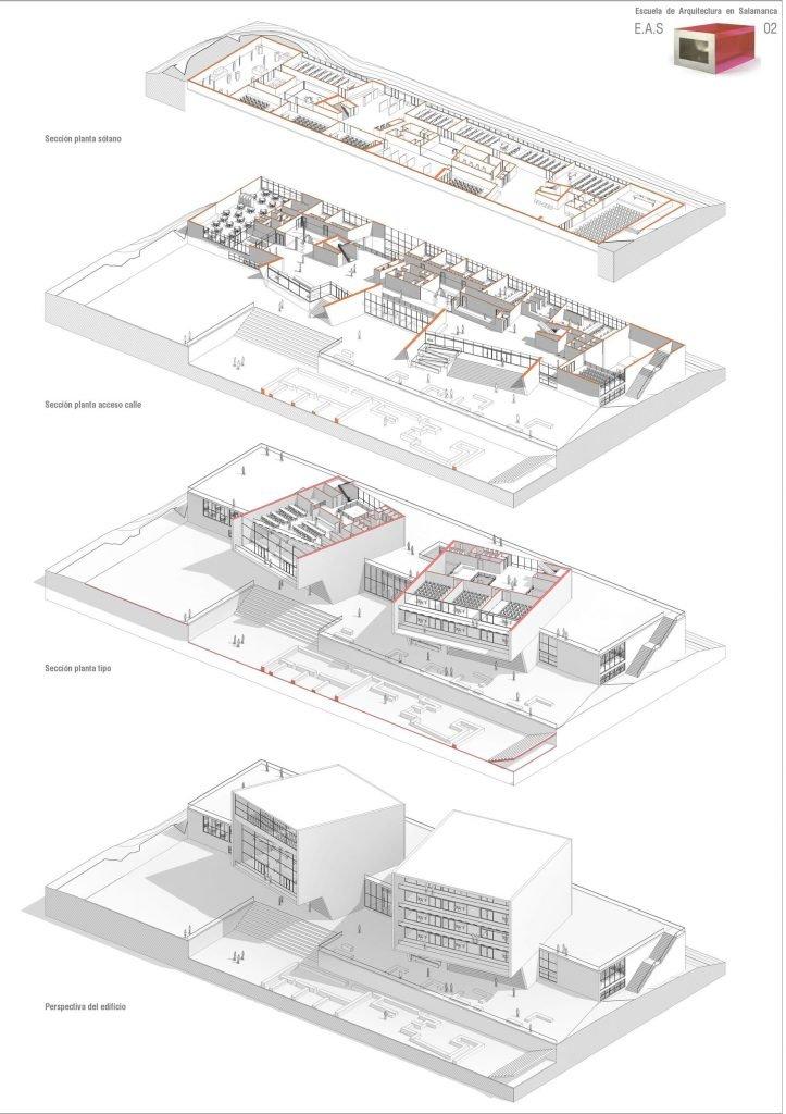 Escuela de Arquitectura<br/> de Salamanca