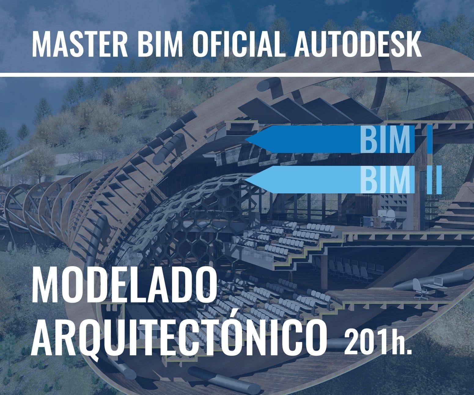 MASTER BIM REVIT – MODELADO ARQUITECTÓNICO OFICIAL DE AUTODESK